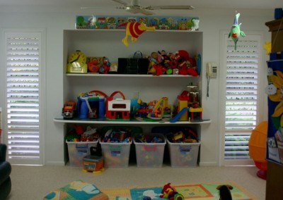 Plantation Shutters in Child's Bedroom