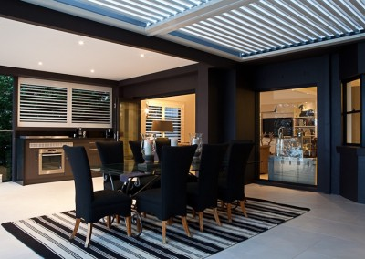 Plantation Shutters in Dining Rooms