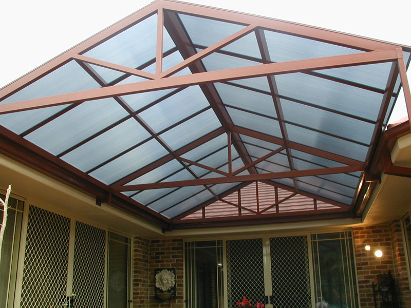 Elegant Carbolite Gable Roof Awning