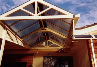 Polycarbonate Gable Roof Awning Sydney ...