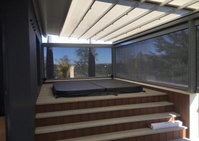 Zip Trak & Retractable Roof
