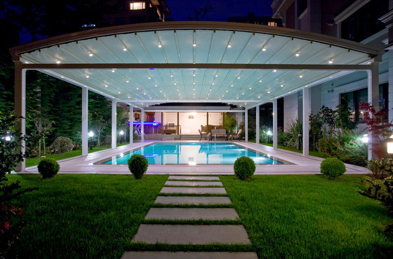 Retractable Roofing Over Swimming Pool Part 38