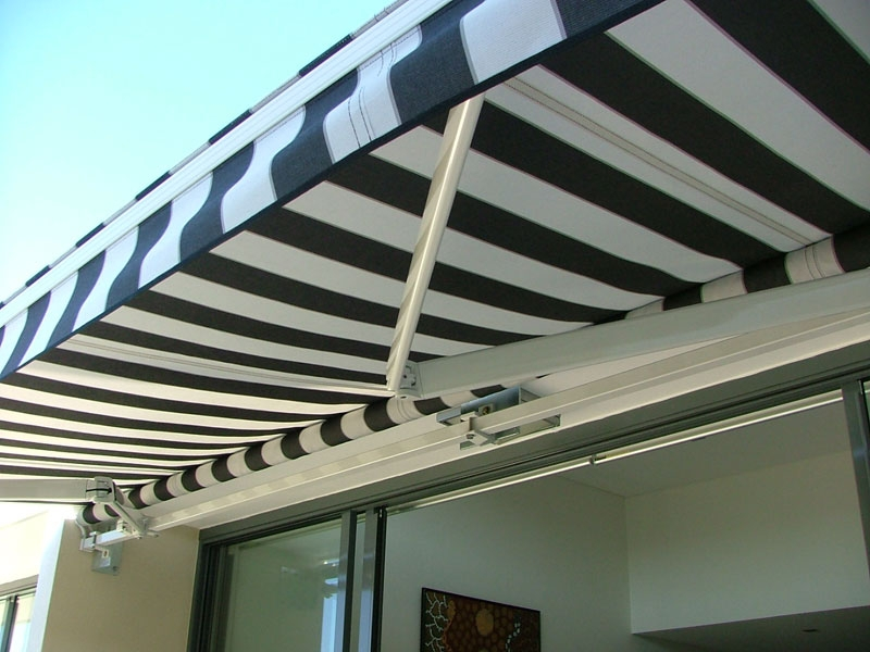 Open Roll Awning