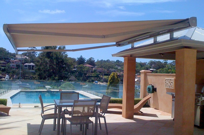 Outdoor Folding Arm Awnings