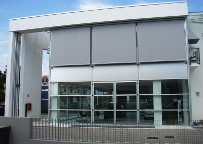 Straight Drop Awnings Commercial Premises