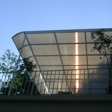 Patio Cover Protecting From Evening Sun