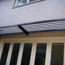 aluminium awning cantilevered sydney