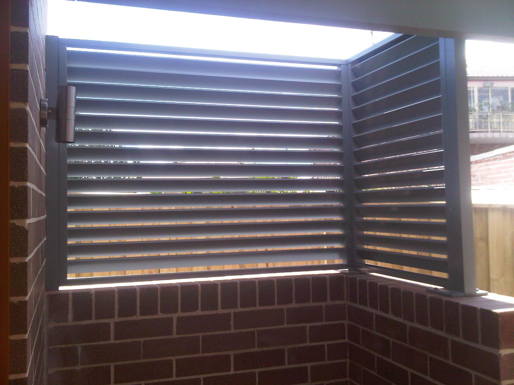 aluminium balcony shade sydney