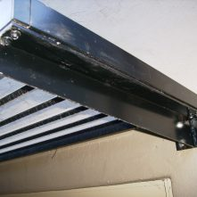 aluminium cantilevered awnings sydney close up