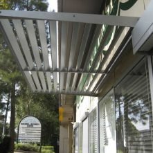aluminium cantilevered awnings sydney shopfront