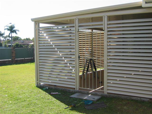 aluminium sunroom shades sydney