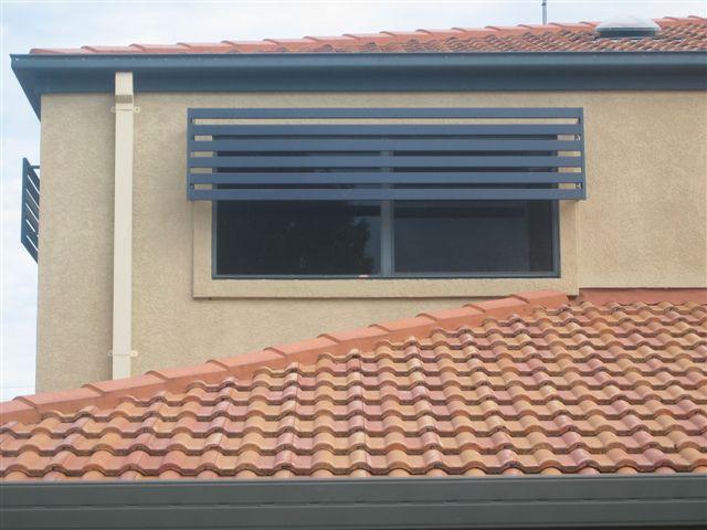aluminium window shade