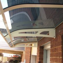 clearlite awning for door sydney