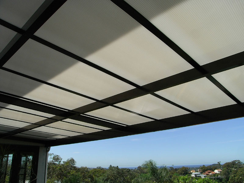 cover patio with view