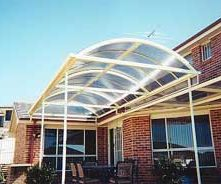 entryway-polycarbonate-barrel-vault-awning