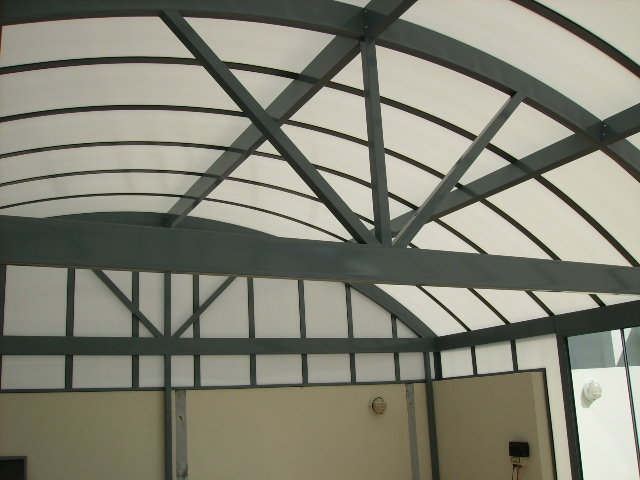Barrel Vault Awnings Blind Elegance Cafe Blinds