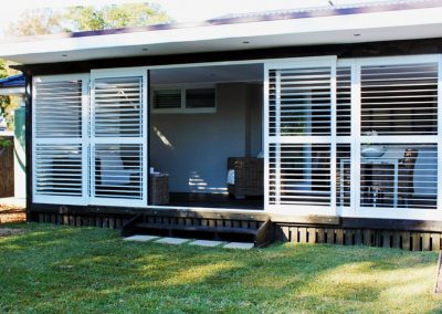 Sliding Aluminium Plantation Shutters